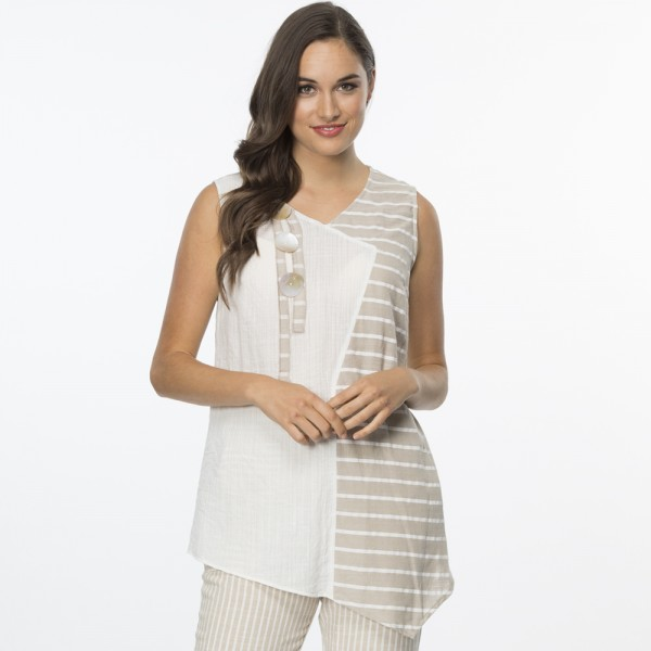 Clarity Flowing Spliced Camisole (#34492)