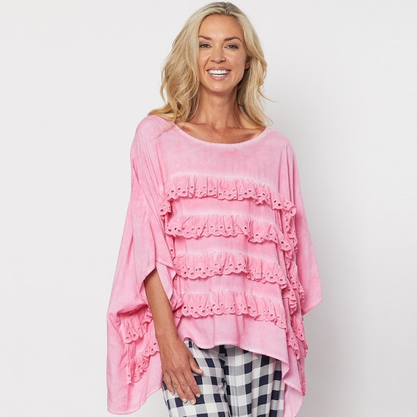 Clarity Frill Detail Top (#39666)