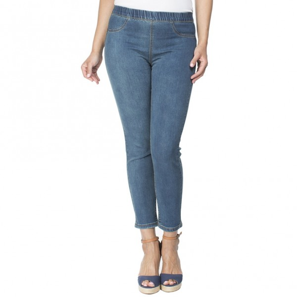 Threadz Crop Stretch Jean (#16999)