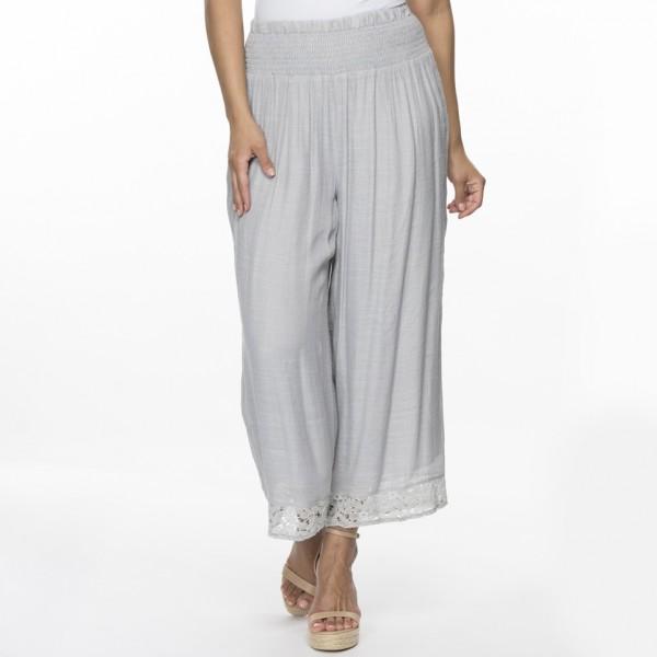 Clarity Shirred Waist Pant (#34878)