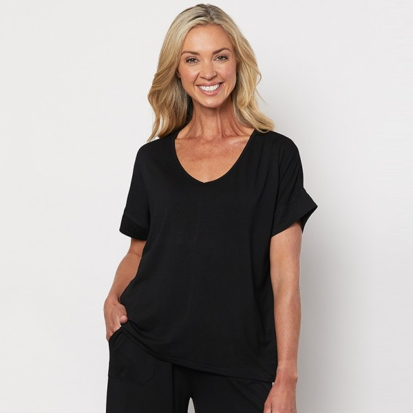 Clarity Essential V-Neck Tee (#39327)