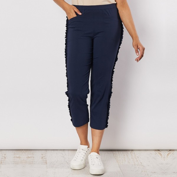 Clarity Frilled Side Detail Pant (#39660)