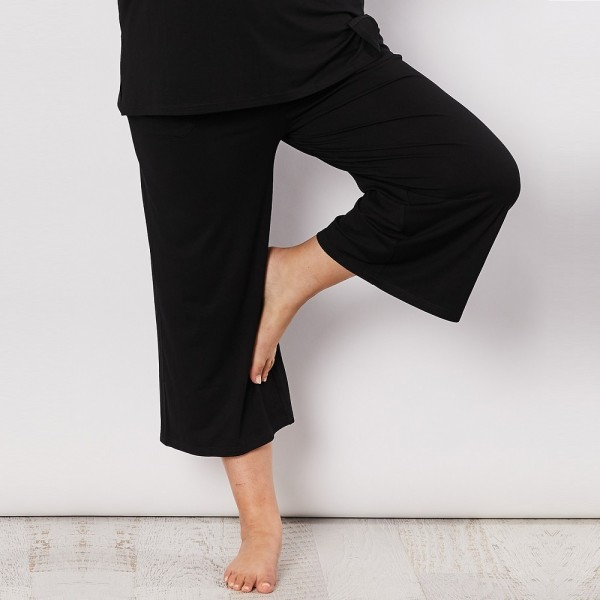 Clarity Essential Wide Leg Pant (#39784)