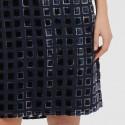 Faye 'Grand Palais' Velvet Dress (#934361-67)