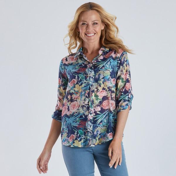 Gordon Smith Floral Print Shirt (#37257)