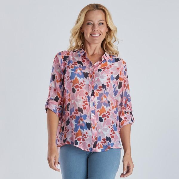 Gordon Smith Floral Print Shirt (#38559)