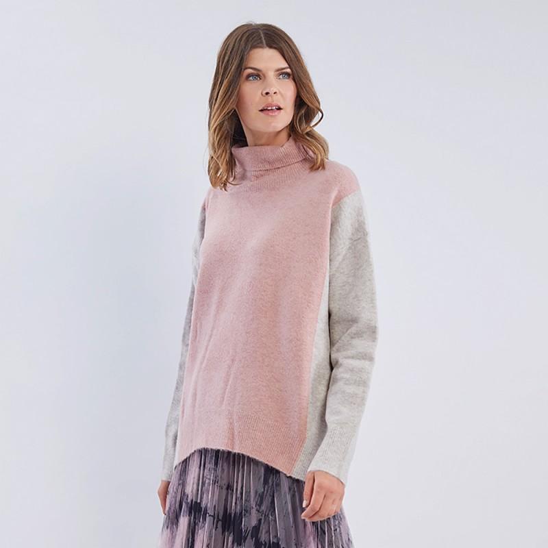 Hammock & Vine Colour Block Knit (#38785)
