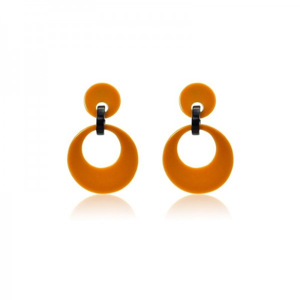 Le Château Acrylic Pierced Earrings (#EH027)