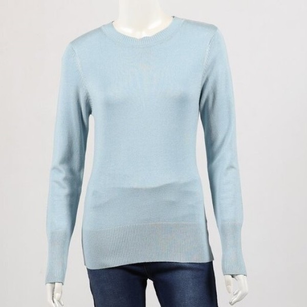Lilia Essential Long Sleeve Knit Top (#0002)