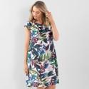 Marco Polo S/S Tropical Dress (#YTMS09090)