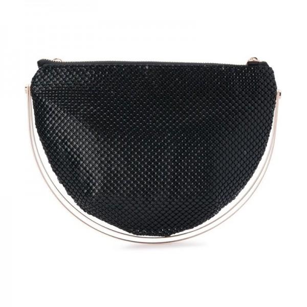 Olga Berg 'Rondella' Mesh Handle Bag (#OB6325)