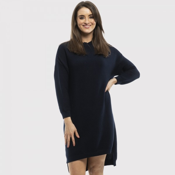 Orientique Essential Ribbed Knit Dress (#11071)