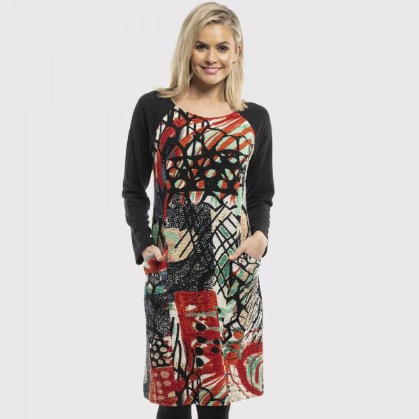 Orientique 'Raphael' Shift Pocket Dress (#61364)