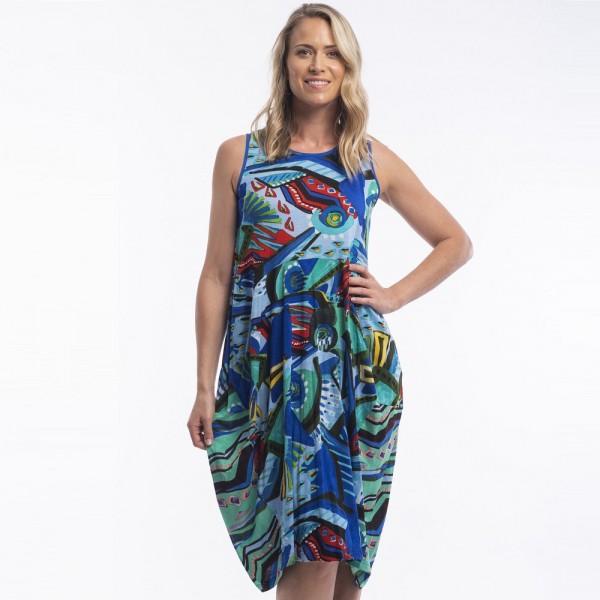 Orientique 'Granada' Bubble Dress (#61411)