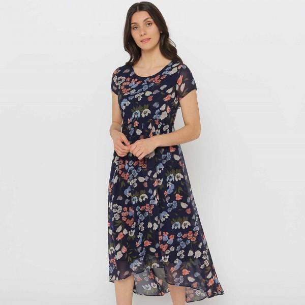 Privilege 'Oasis' Midi Length Dress (#3330-415)