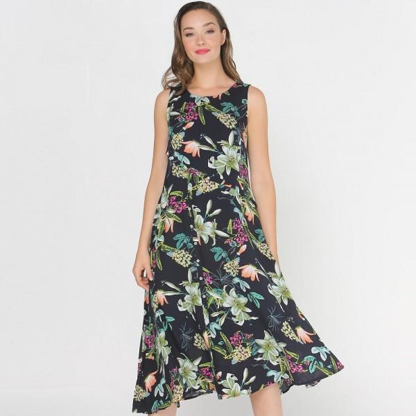 Privilege 'Camilla' Print Dress (#3392-450)