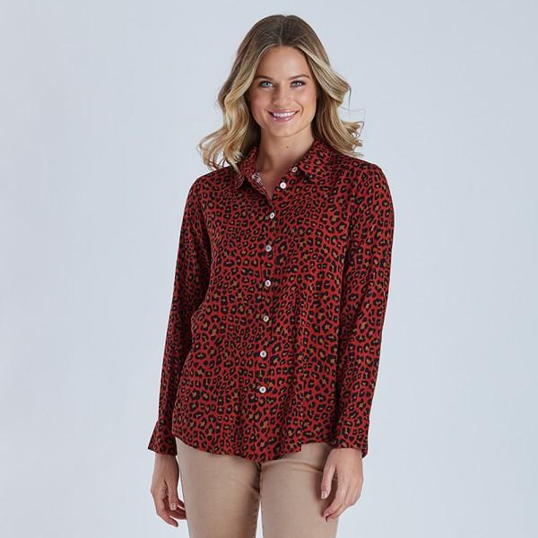 Threadz Animal Print Shirt (#38580)