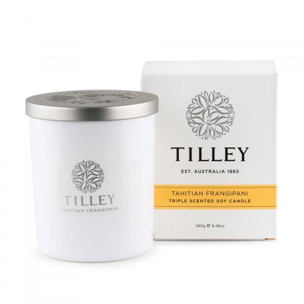 Tilley Tahitian Frangipani Soy Candle (#FG0706)