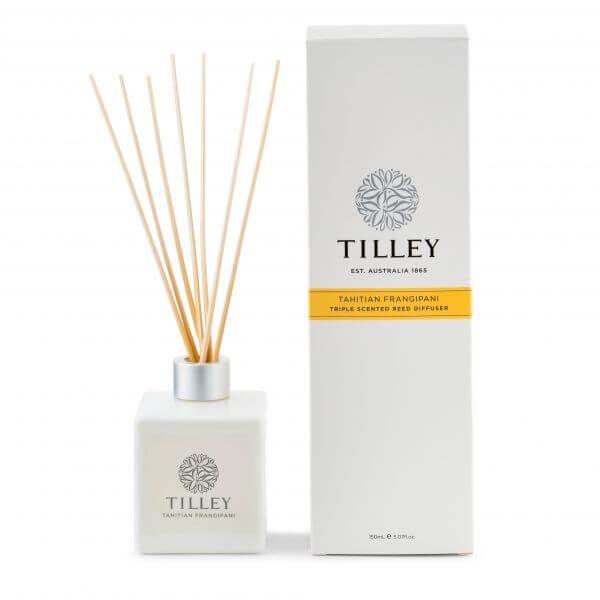 Tilley Tahitian Frangipani Reed Diffuser (#FG0756)